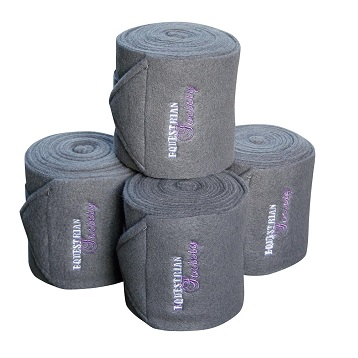 FLEECE BANDAGES - PEWTER
