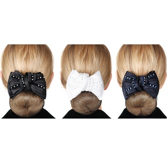 FILET CHEVEUX PAPILLON STRASS